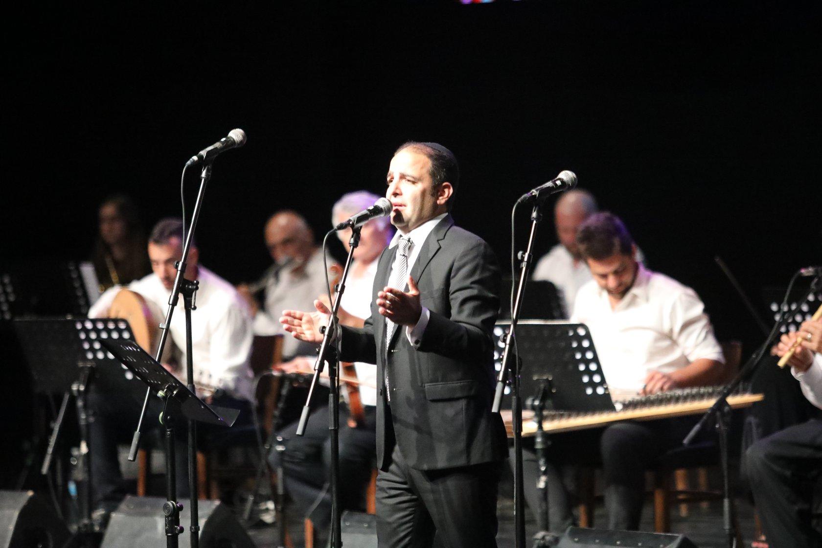 חיים ישראל במופע הסליחות של האנדלוסית אשדוד בקריית מוצקין