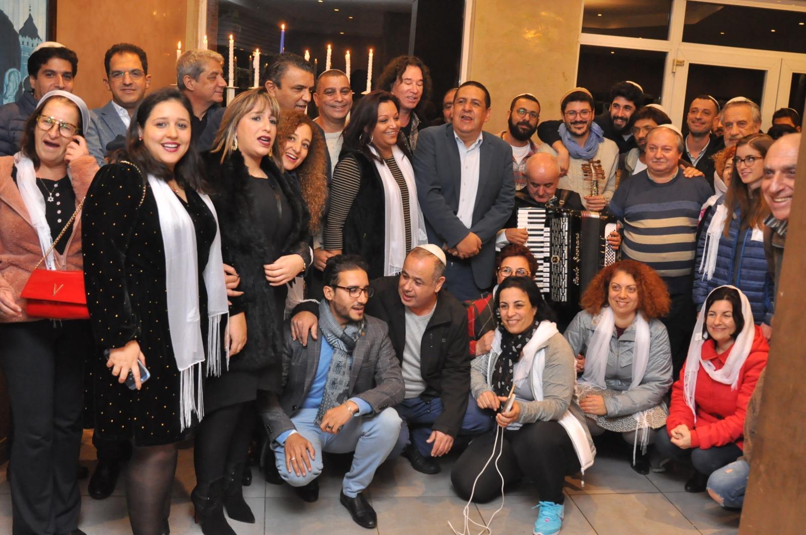 התזמורת האנדלוסית והאורחים במרוקו