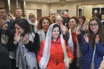 האנדלוסית עם האורחים במרוקו