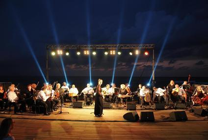 התזמורת האנדלוסית בנמל תל אביב