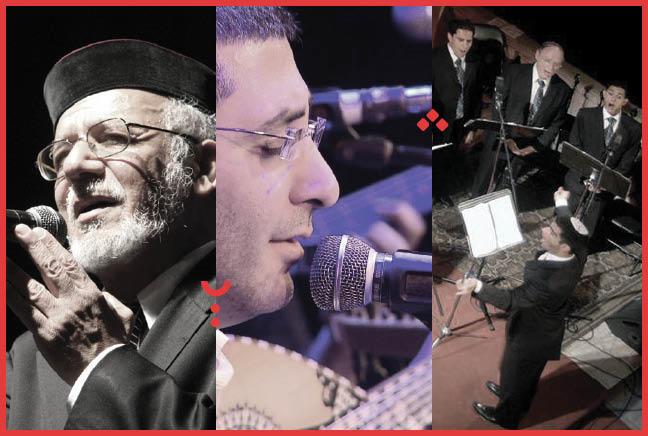 חיים לוק, הרב דוד מנחם ומקהלת 'קולות מן השמים'